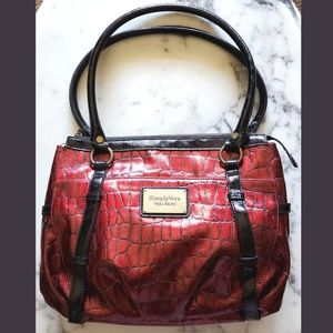 Vera Wang Ruby Red Bag